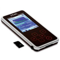 TEAC MP3 player MP255 8GB FM SD slot