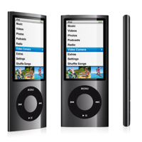 MP3 prehrávač do 5GB - iPod nano 16GB black
