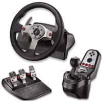 MP3 prehrávač do 5GB - Volant LOGITECH G25 Racing Wheel