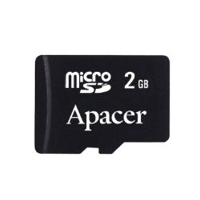 Apacer Micro SecureDigital card 2GB