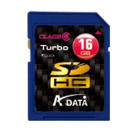 Klasické SD karty (SecureDigital card) - A-data SecureDigital HighCapacity card 16GB Class6
