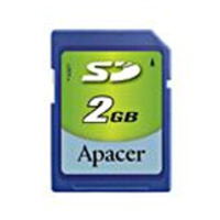 Klasické SD karty (SecureDigital card) - Apacer SecureDigital card 2GB 60x