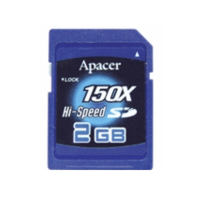 Klasické SD karty (SecureDigital card) - Apacer SecureDigital card 2GB HighSpeed 100x